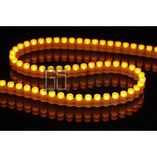 Герметичная светодиодная лента DIP 96LED/m IP67 12V Yellow