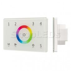 Панель Sens SMART-P83-RGB White (230V, 4 зоны, 2.4G)