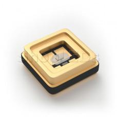 Светодиод ARL-3535-TWA-UVA+C DUAL (3V, 20 mA)