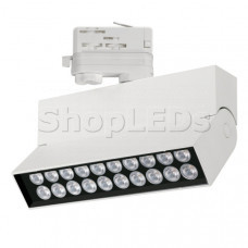 Светильник LGD-LOFT-TRACK-4TR-S170-10W White6000 (WH, 24 deg, DALI) (ARL, IP20 Металл, 3 года)