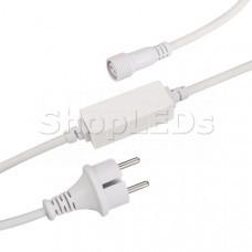 Шнур питания ARD-CLASSIC-STD-1.5M White (230V, 1.6A)