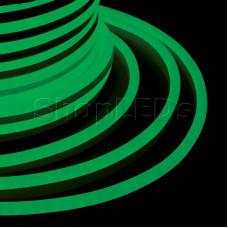 Гибкий Неон LED - зеленый, бухта 50м