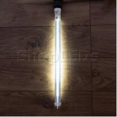 Сосулька светодиодная 50 см, 220V, e27, двухсторонняя, 48х2 диодов, цвет диодов белый