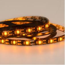 LED лента с USB коннектором 5 В, 8 мм, IP65, SMD 2835, 60 LED/m, цвет свечения желтый
