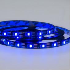 LED лента с USB коннектором 5 В, 8 мм, IP65, SMD 2835, 60 LED/m, цвет свечения синий