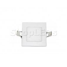 Светодиодная панель BKL-T-92-3W (белый квадрат, 3W, 80x80x12мм) (белый 6000K)