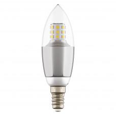 940544 Лампа LED 220V C35 E14 7W=70W 460LM 60G CL/CH 4200K 20000H (в комплекте)