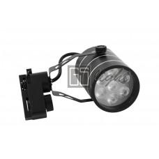 Светодиодный светильник SPOT для трека 7W ЧЁРНЫЙ Day White