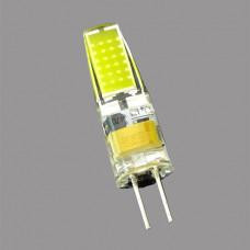 G4-12V-3W-4000K Лампа LED COB (силикон)