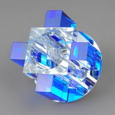 1037 BL Точечный светильник синий GU5.3