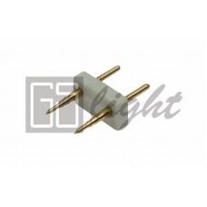Соединитель для одноцветной светодиодной ленты 3528 220V